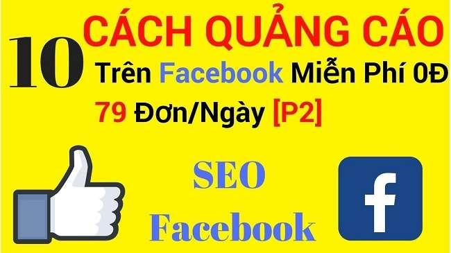 Cách quảng cáo trên Facebook miễn phí