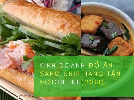 Kinh doanh đồ ăn sáng Online