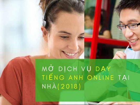 Mở trung tâm ngoại ngữ online