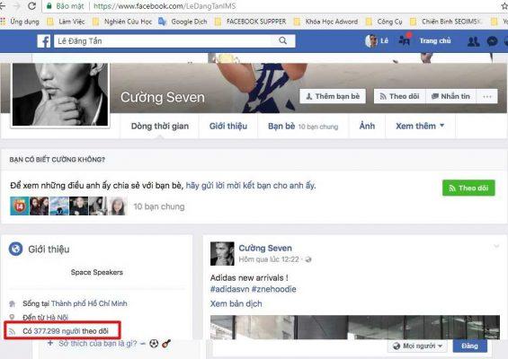 Bán hàng trên facebook cá nhân hiệu quả