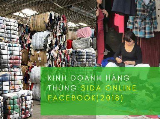 Kinh doanh hàng thùng sida online